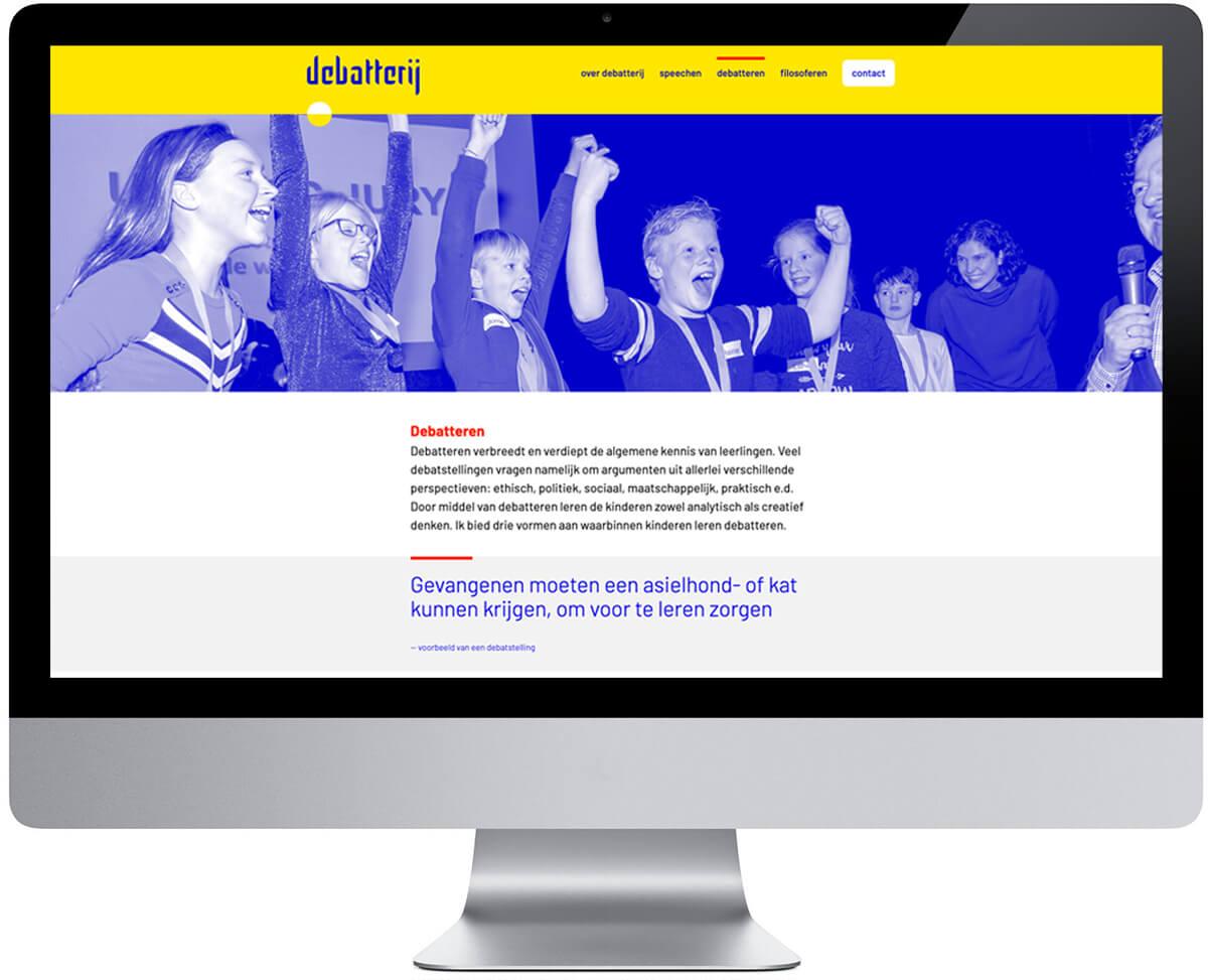 Website Debatterij