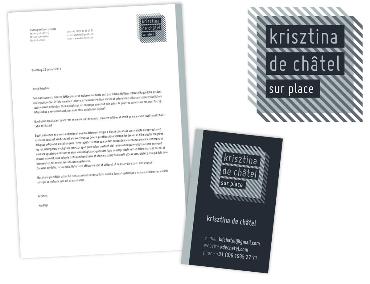 Krisztina de ChIatel | stationary
