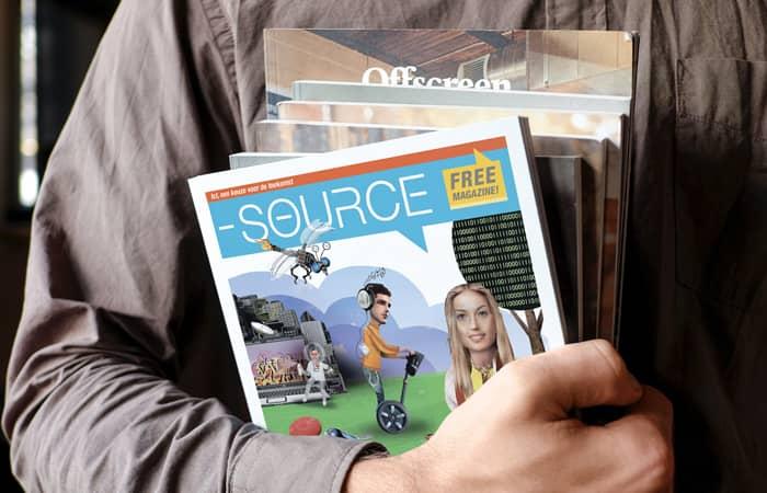 Voorbeelden van magazines