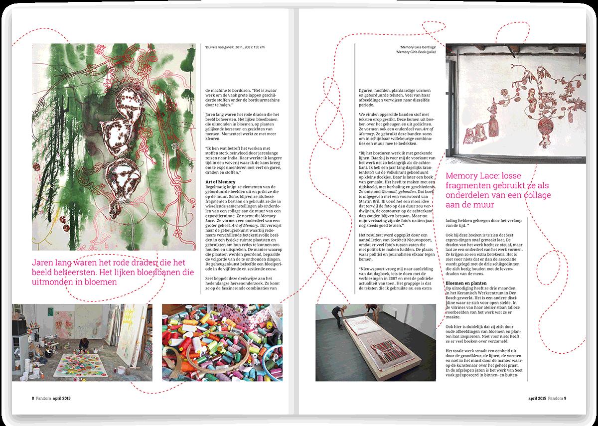 Kunstmagazine Pandora