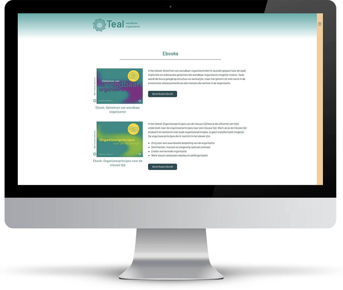 Website Teal