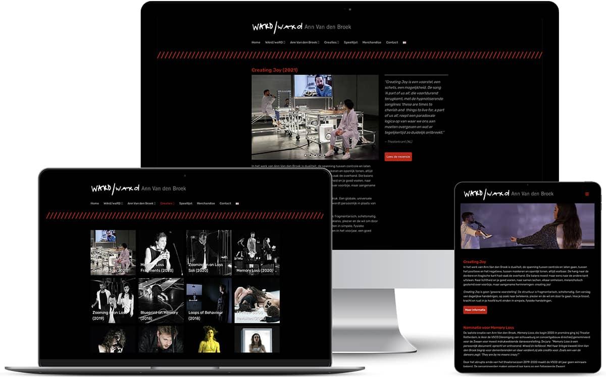 WArd/waRD website
