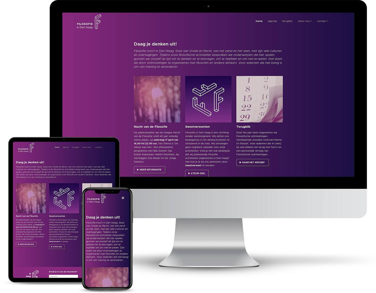Website Filosofie in Den Haag