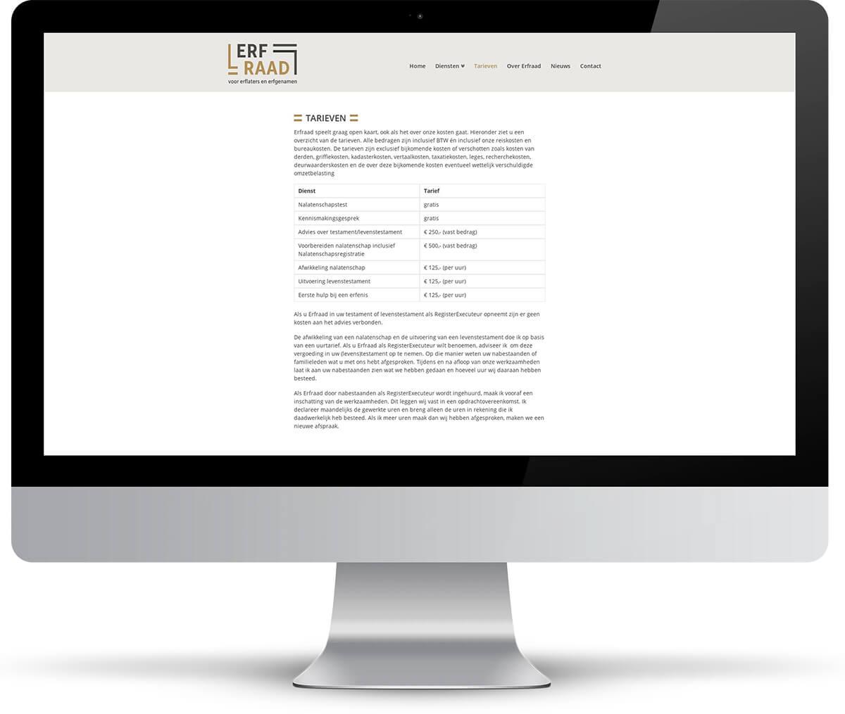 Website Erfraad